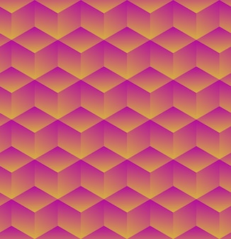 Abstrakter geometrischer hintergrund mit würfeln. illustration