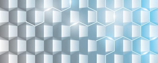 Abstrakter geometrischer hintergrund