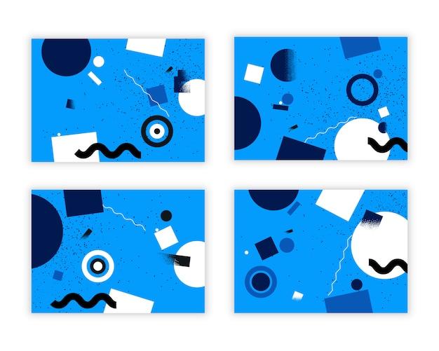Abstrakter geometrischer hintergrund.
