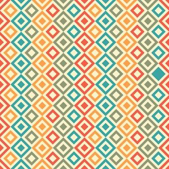 Abstrakter geometrischer nahtloser musterhintergrund. helle farbe der grafischen modernen mustertextur