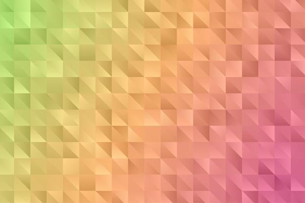 Abstrakter geometrischer polygonhintergrund. diamant tapete. elegantes muster.