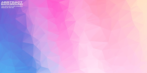 Abstrakter geometrischer rosa pastellhintergrund