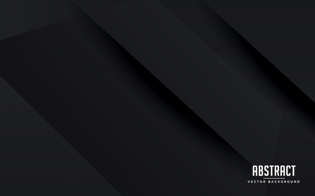 Abstrakter geometrischer schwarzer hintergrund