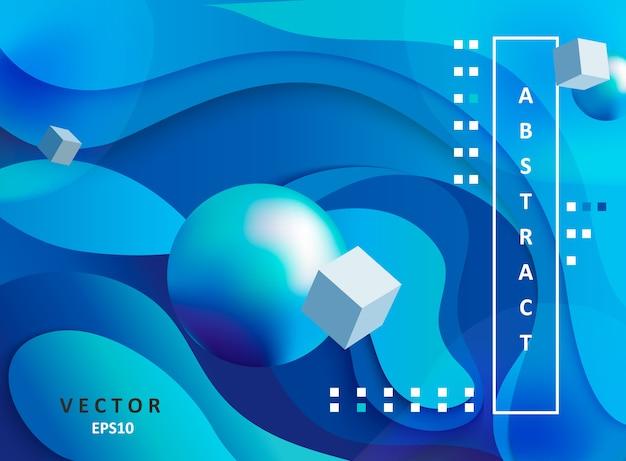 Abstrakter geometrischer steigungshintergrund