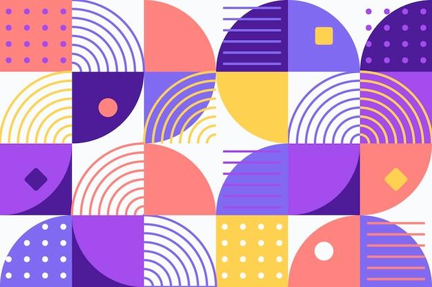 Abstrakter geometrischer wandhintergrund