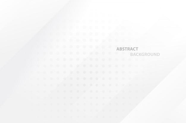 Abstrakter geometrischer weißer und grauer farbhintergrund.