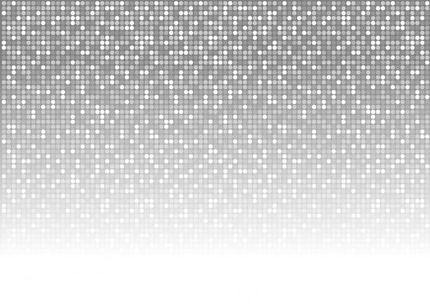 Abstrakter gepunkteter mosaikhintergrund