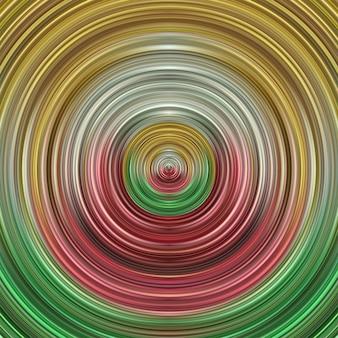 Abstrakter gestreifter kreiswellenkunsthintergrund