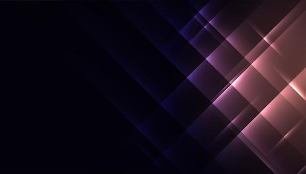 Abstrakter glänzender glühender diagonaler linienhintergrund