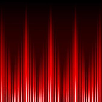Abstrakter glühen-roter lichteffekt-vektorhintergrund