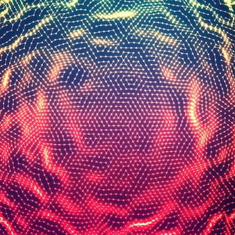 Abstrakter glühender punktgeräuschhintergrund.