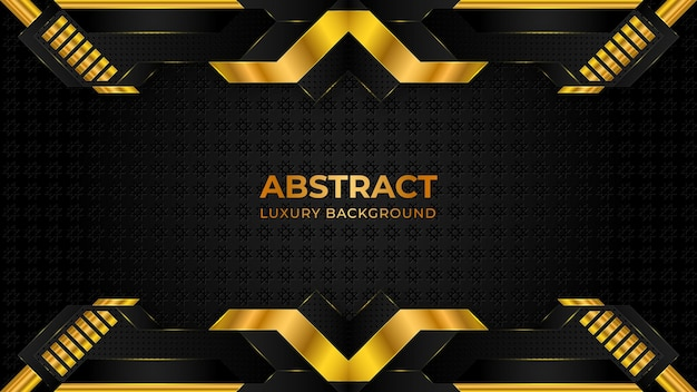 Abstrakter goldener halbtonmuster-luxushintergrund