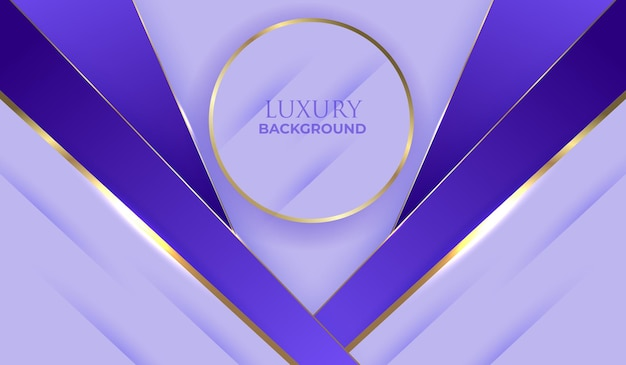 Abstrakter goldener und purpurroter luxushintergrund