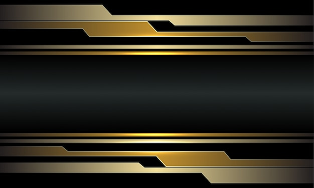Abstrakter goldschaltkreis cyber dunkelgrau metallischer luxus futuristischer technologiehintergrund.