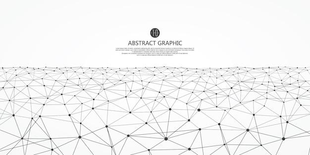 Abstrakter grafischer hintergrund mit niedriger polystruktur