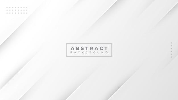 Abstrakter grauer und weißer farbverlauf moderner hintergrund