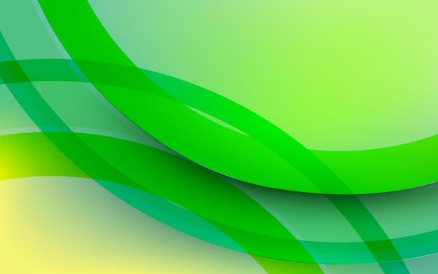 Abstrakter grüner geometrischer formhintergrund. design für social-media-banner, plakatbroschüre, plakat, broschüre, flyer, web