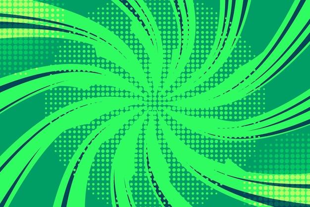 Abstrakter grüner halbtonhintergrund