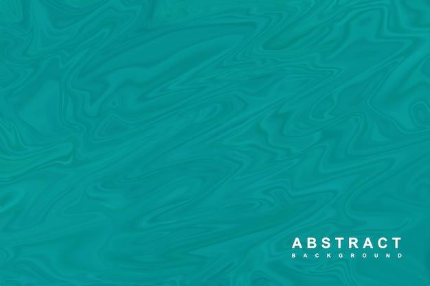 Abstrakter grüner hintergrund mit flüssiger textur
