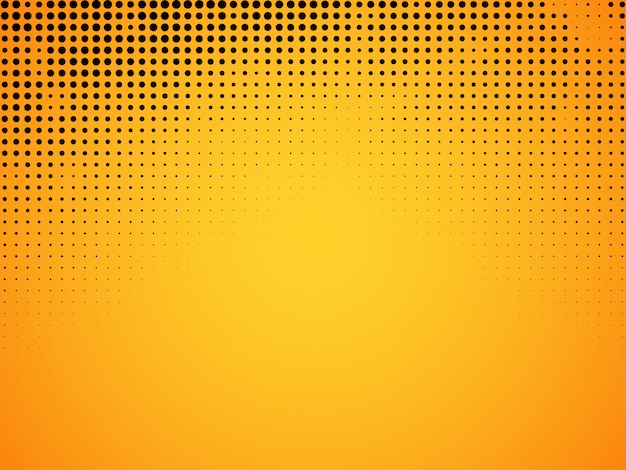 Abstrakter halbton gelber hintergrund