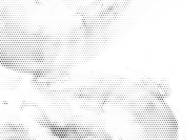 Abstrakter halbtondesign-hintergrundvektor