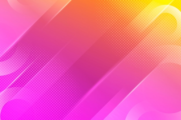 Abstrakter halbtonhintergrund mit farbverlauf Kostenlosen Vektoren