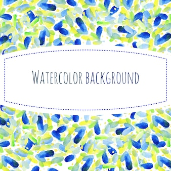 Abstrakter handfarben-aquarellhintergrund