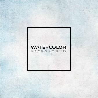 Abstrakter hellblau gemalter aquarellhintergrund auf papier