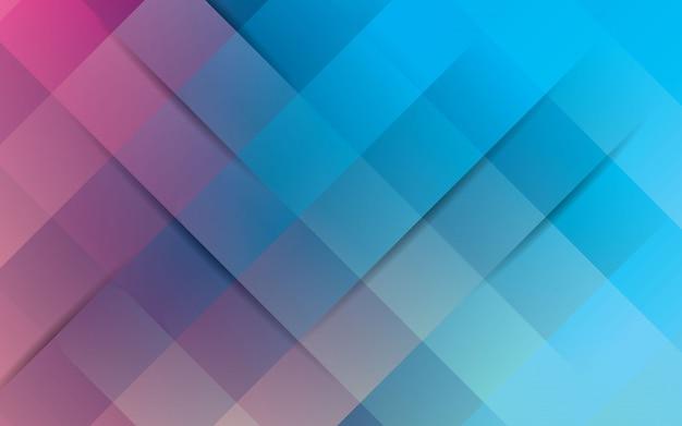 Abstrakter hellblauer und rosafarbener hintergrund