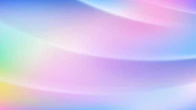 Abstrakter heller hintergrund in verschiedenen farbverlaufsfarben