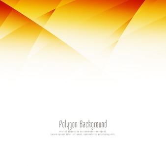 Abstrakter heller polygonauslegunghintergrund