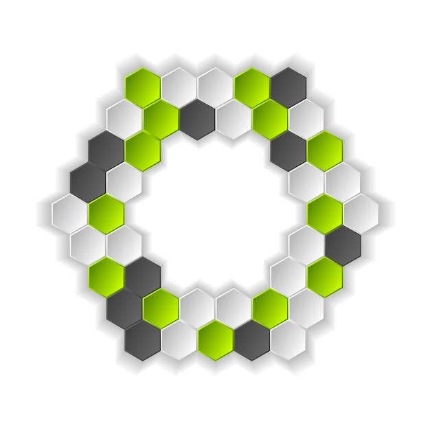 Abstrakter hightech- hintergrund. vektordesign