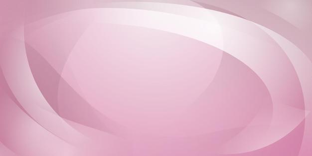 Abstrakter hintergrund aus geschwungenen linien in rosa farben