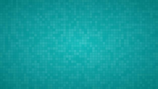 Abstrakter hintergrund aus kleinen quadraten oder pixeln in hellblauen farben