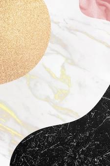 Abstrakter hintergrund aus schwarzem und weißem marmor