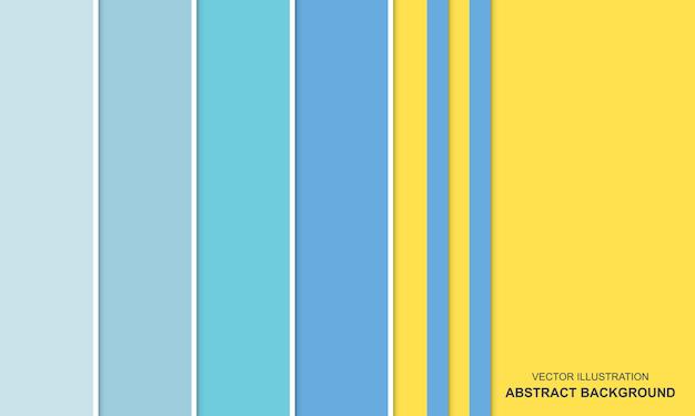 Abstrakter hintergrund blau und gelb