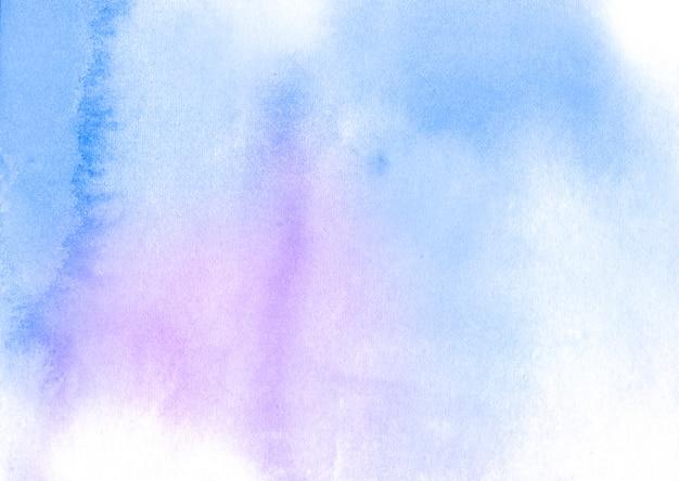 Abstrakter hintergrund der blauen aquarellbeschaffenheit