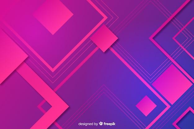 Abstrakter hintergrund der geometrischen formen