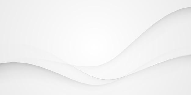 Abstrakter hintergrund der grauen silbernen welle