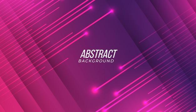 Abstrakter hintergrund der modernen futuristischen rosa lila farbverlaufsspieltechnologie mit glänzenden strahlen