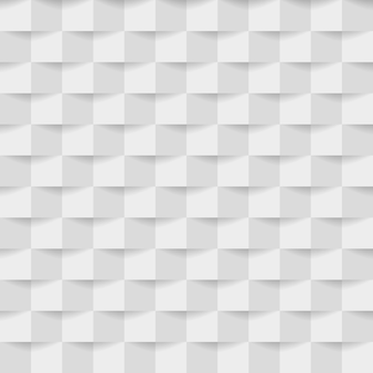 Abstrakter hintergrund der weißgrauen quadrate.