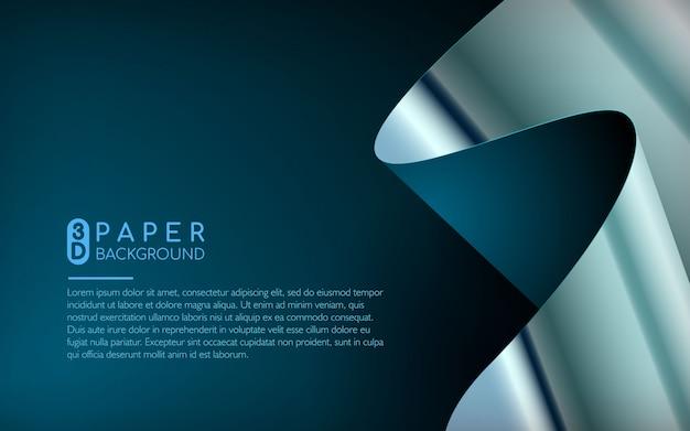 Abstrakter hintergrund des blauen papiers