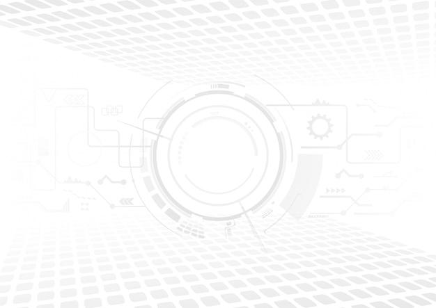 Abstrakter hintergrund des designs 3d mit technologiepunkt und linie leiterplattebeschaffenheit. moderne technik, futuristisch, wissenschaftskommunikationskonzept.