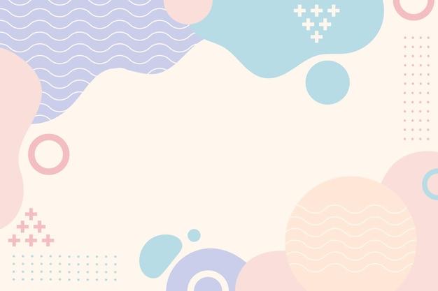 Abstrakter hintergrund des flachen designs