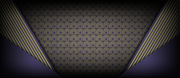 Abstrakter hintergrund des geometrischen designs der braunen kreise