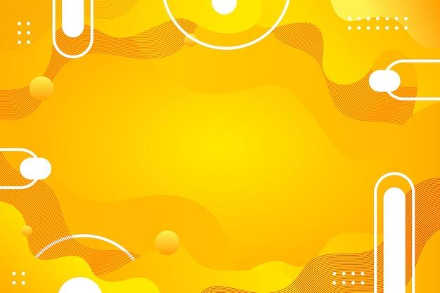 Abstrakter hintergrund des leuchtend orange kreismusters für broschürenflieger-bannerschablone