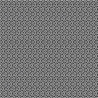 Abstrakter hintergrund des modernen dreiecksmusters