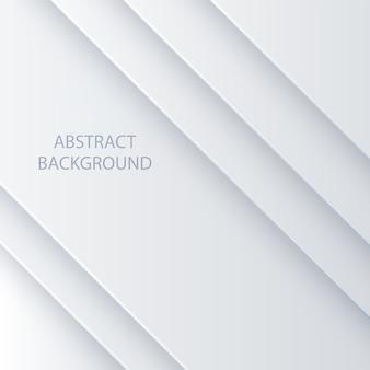 Abstrakter hintergrund des weißen vektors