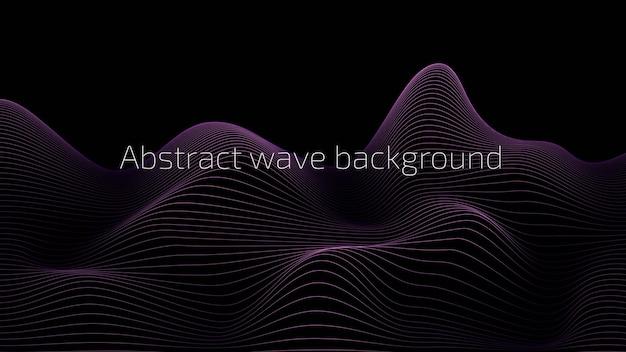 Abstrakter hintergrund design von banner-plakat-werbung und etc. vektor-hintergrund