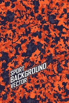 Abstrakter hintergrund für extreme trikot-teams, rennen, radfahren, leggings, fußball, spiele und sportfarben.